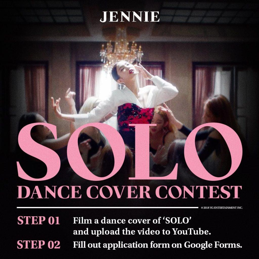 BLACKPINK's Jennie Announces 'SOLO' Cover Contest | Namaste