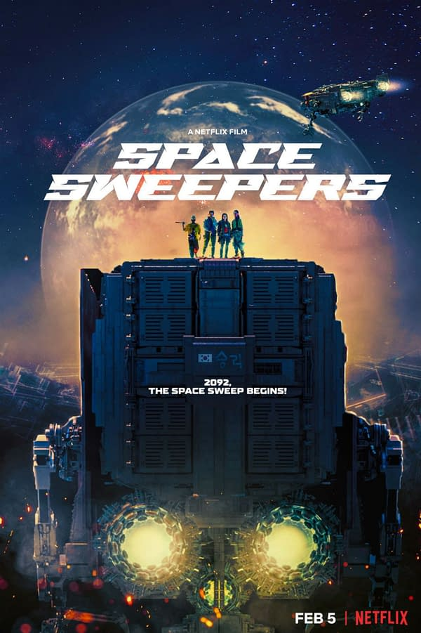 space sweepers, victory