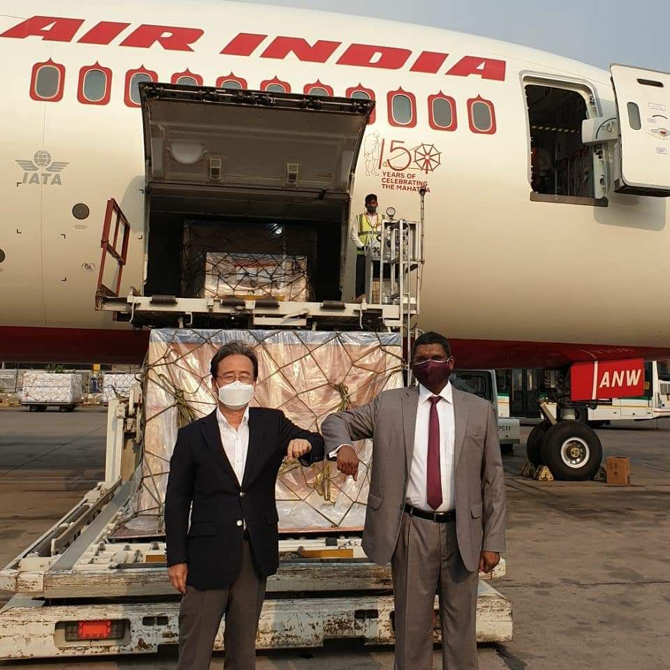 South Korean Aids India During Covid 19 Crisis