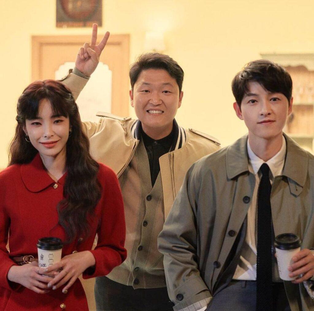 PSY, Heize, Song Joong Ki