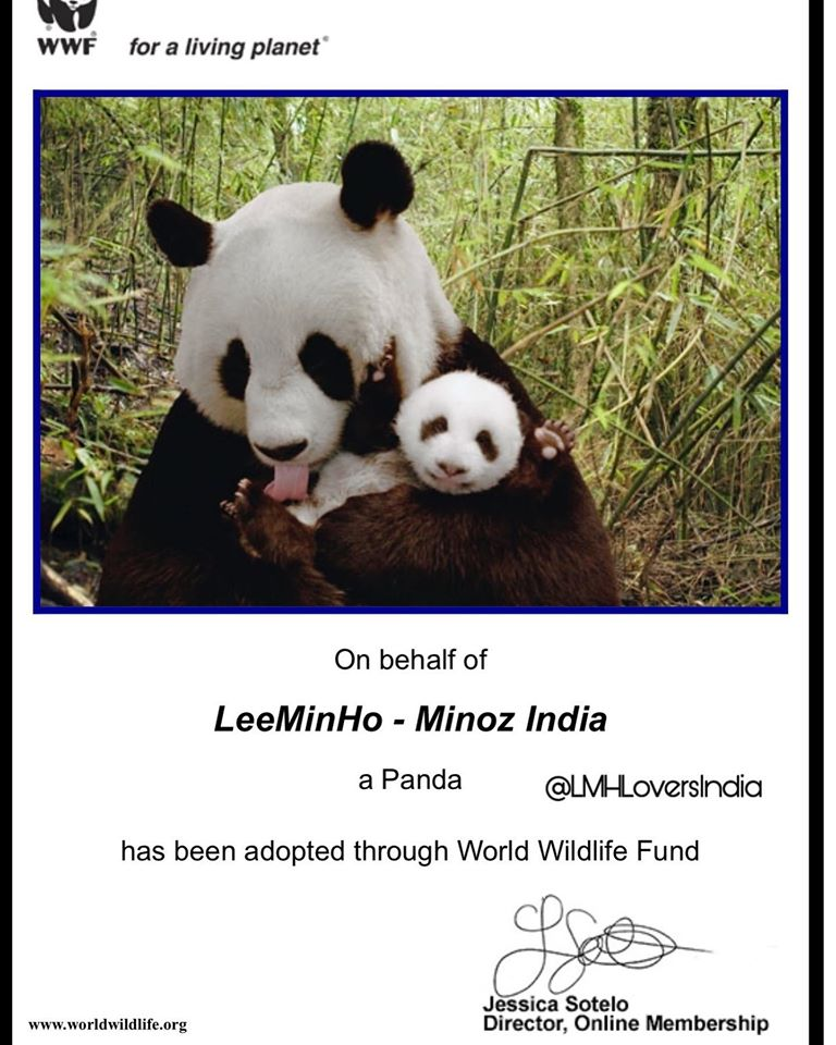 WWF Lee Min Ho India