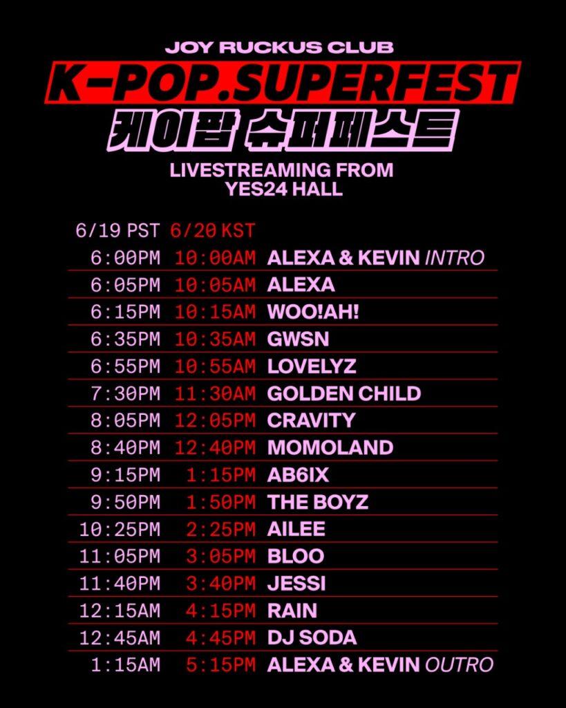 K-POP SUPERFEST 2021